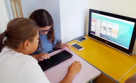 """С 6 апреля (понедельник)  2020 года наша школа """"7 ключей"""" переходит на обучение с использованием электронного обучения и дистанционных образовательных технологий."""
