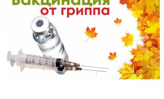 18 сентября, в пятницу, проводится вакцинация против гриппа