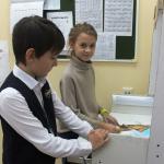 """Наши пятиклассники с мультфильмом на телеканале """"Снимай науку!"""""""