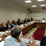 Ученики школы стали участниками III Международного форума «Модель международных организаций» (г. Омск)