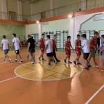 Дружеская встреча по баскетболу